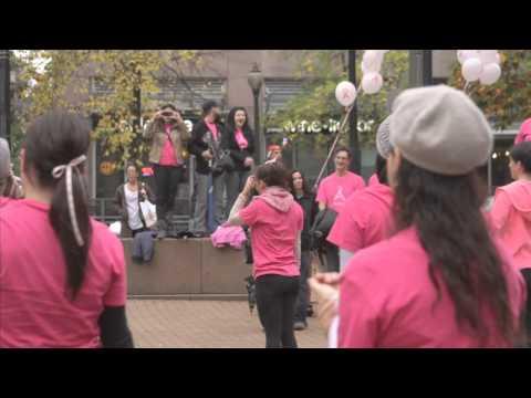 BRA Day Flash Mob Vancouver BC 2012