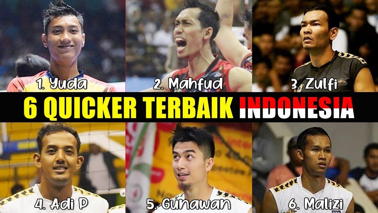 6 QUICKER TERBAIK INDONESIA 2019 VOLLEYBALL TARKAM