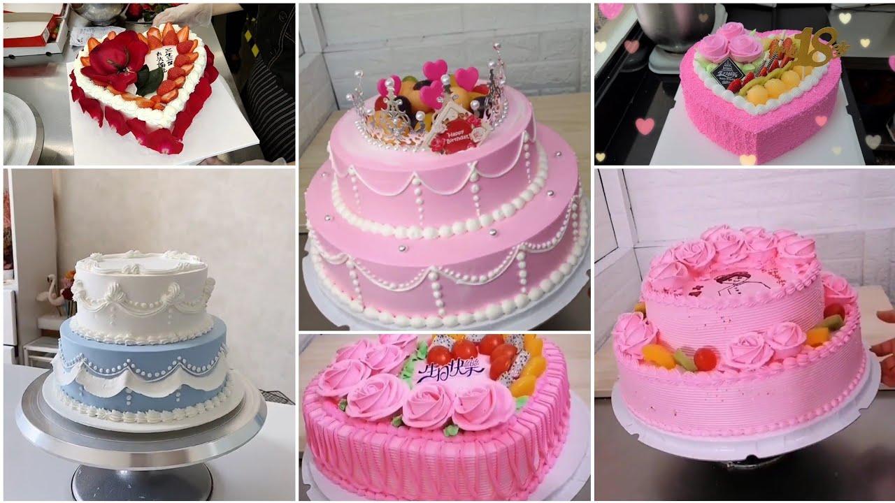 Simple Anniversary Cake Wedding Anniversary Cake Designs Romantic Anniversary Cake With Name Youtube