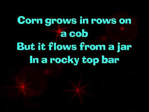 About the South by Rodney Atkins with lyrics on screen