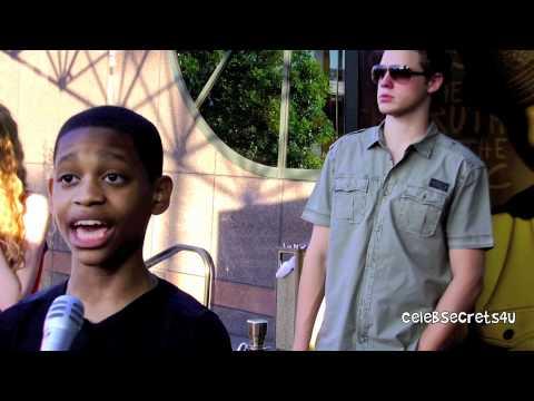 "Tyrel Jackson Williams Interview- ""Let It Shine Premiere"""