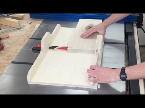 Build a Crosscut Sled And Up Your Table Saw Game