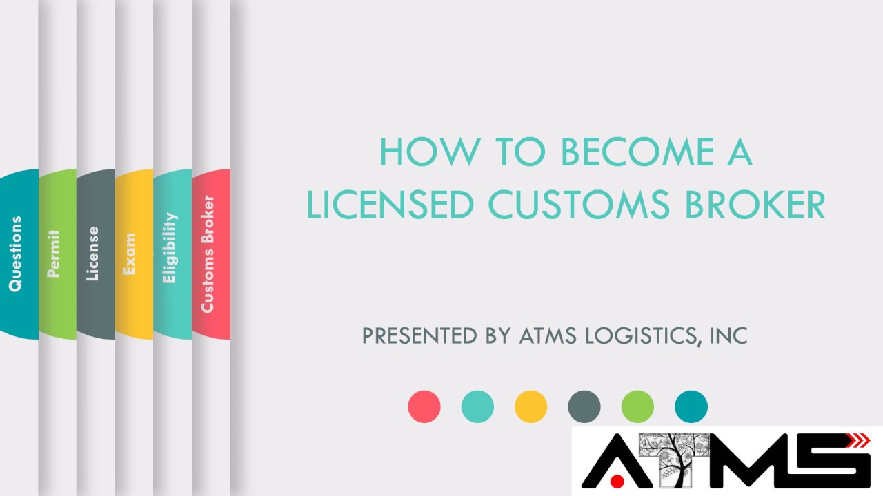 How To Become A Customs Broker – Here's What You Need To