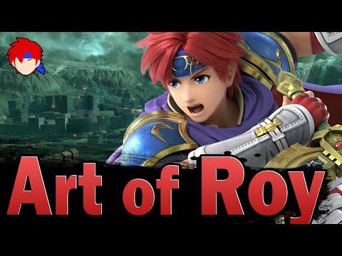 Smash Ultimate: Art Of Roy