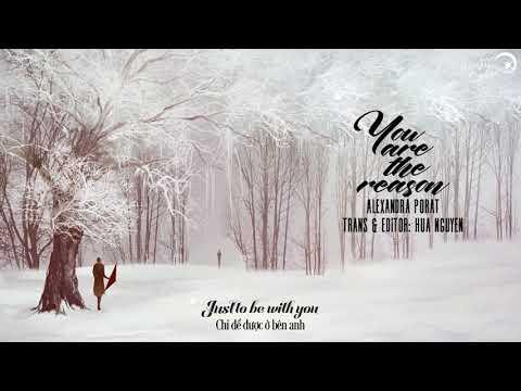 [Lyrics + Vietsub] You Are The Reason - Calum Scott (cover By Alexandra Porat)