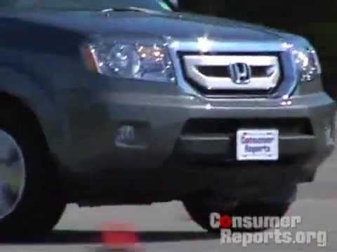 Honda Pilot Review from Consumer Reports