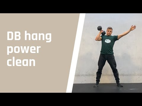 DB hang power clean
