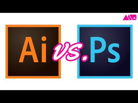 Photoshop vs Illustrator for Design - What's the Difference?