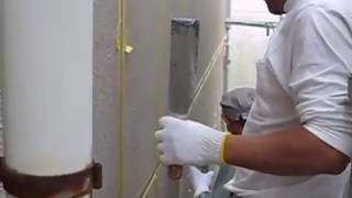 横浜塗装職人によるALC外壁の目地シーリング(コーキング)の動画映像 thumbnail