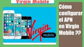 Como configurar el APN de Virgin Mobile en un iPhone 5s. Español.