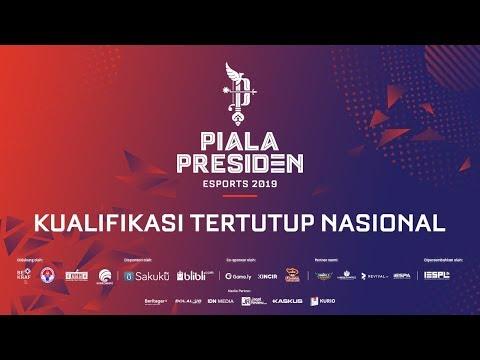 PIALA PRESIDEN ESPORTS 2019 - KUALIFIKASI TERTUTUP NASIONAL | PSG.RRQ vs NXL