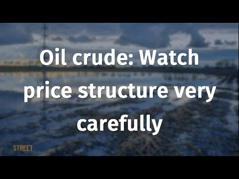 Oil crude: Watch price structure very carefully