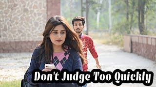 DON'T JUDGE TOO QUICKLY | watch till the end | Funky Dudes