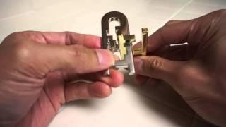 Hanayama Keyhole Level 4 Solution
