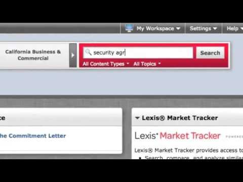 Lexis Practice Advisor Overview - Jon Carter Voice Overs