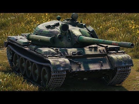 World of Tanks T 55A - 6 Kills 9,1K Damage thumbnail