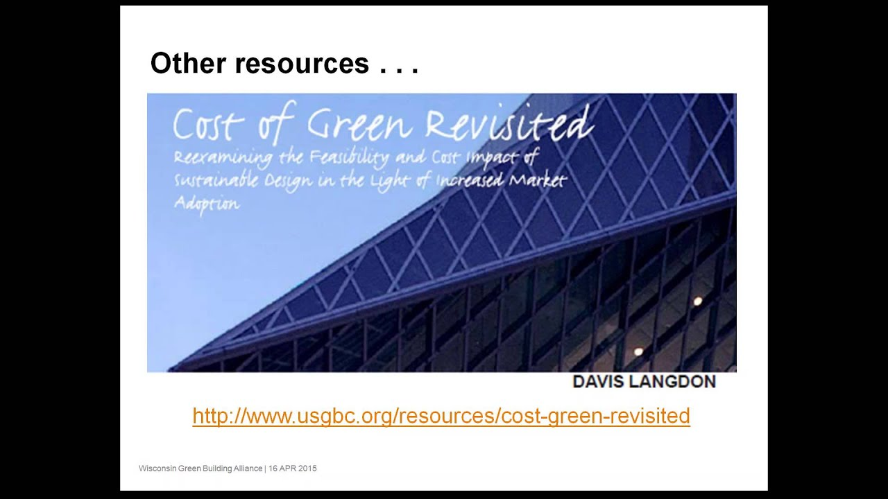 Cost Benefit Analysis Of Securing Leed Certification For Municipal