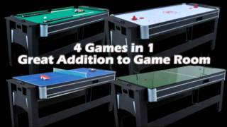 """MD Sports 75"""" Ultimate 4000 4in1 Multi Game Table"""