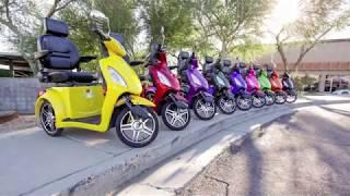 eWheels EW-36 Elite Scooter Review Video