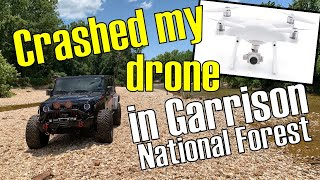 ORR Episode 6: Crashed My Drone in Garrison National Forrest 100 Subs Episode