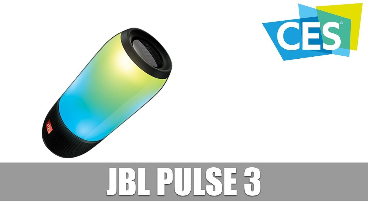 Jbl Pulse 3 Bluetooth Lautsprecher Mit Led Beleuchtung German