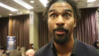 'HE'S COMING TO A GUN-FIGHT WITH A FLOPPY DILDO!' - DAVID HAYE RIPS INTO TONY BELLEW & DAVE COLDWELL