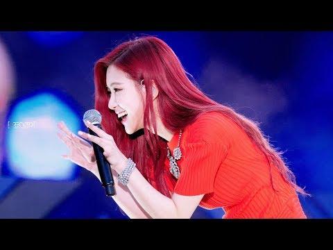 180622 블랙핑크 로제 BLACKPINK ROSÉ 롯데 패밀리 콘서트 Lotte Family Concert 직캠 - STAY