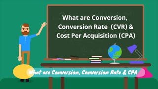 Digital Marketing Basics 101 - What are Conversion, CVR and CPA