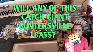 Guntersville Tackle Prep Unboxing - New Bass Fishing Baits for 2019