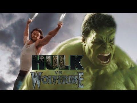 Trận chiến giữa người xanh khổng lồ (Hulk) và người sói (Logan)
