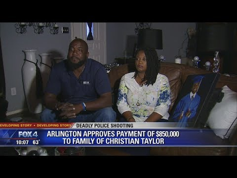 Arlington settles with family of police shooting victim