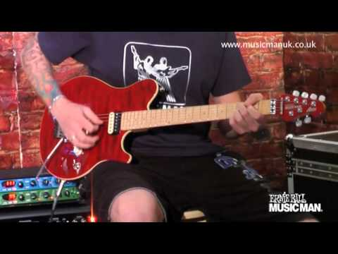 Ernie Ball Music Man - Axis Model - Demo by Jamie Humphries