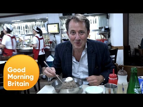Richard Gaisford Samples North Korean Noodles | Good Morning Britain