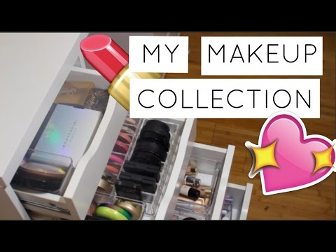 MAKEUP COLLECTION OF A 14-YEAR OLD 2017 // UPDATED