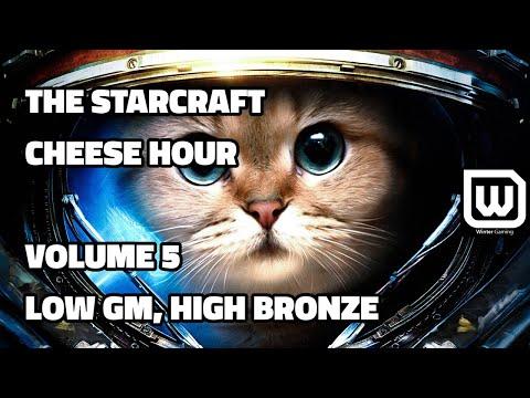 The Starcraft Cheese Hour Vol. 5 - Low Grandmaster, High Bronze Plays.
