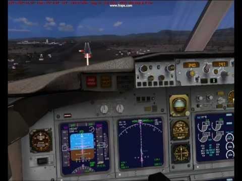 ILS auto- land- runway 93-Houari  Boumediene-DAAG-airport -Algiers