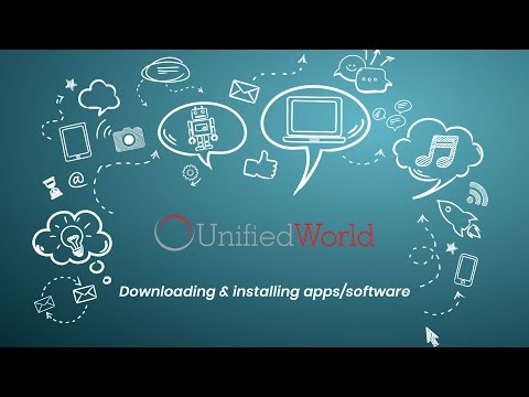 Downloading Apps/Software To Your Unified World Digital Kiosk