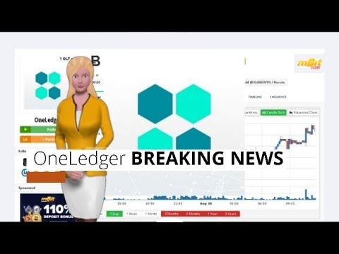 Cryptocurrency OneLedger $OLT Soared 68% In the Past Day 9