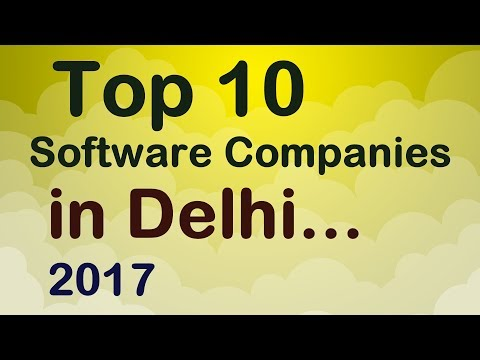 Top 10 Software Companies in Delhi.
