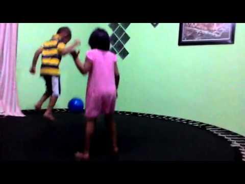 Playing Trampolin #2