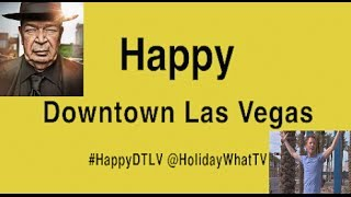 Pharrell Williams┃Happy┃Downtown Las Vegas┃ft. Pawn Star┃#HappyDAY