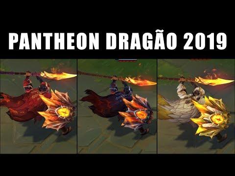 Pantheon Caçador de Dragões - Croma Skin