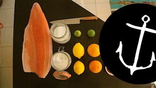 How to make amazing Citrus Gravlax Salmon recipe Bondi Harvest