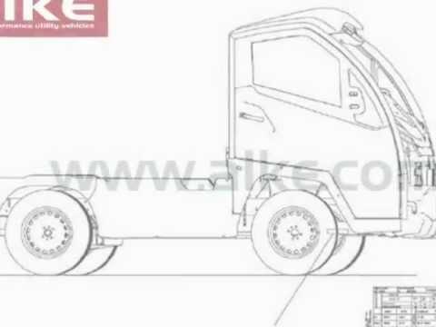camion lectrique avec certificat de conformit europ en n1 youtube. Black Bedroom Furniture Sets. Home Design Ideas