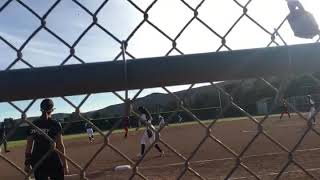 Veronica Macias 3B/OF: home run