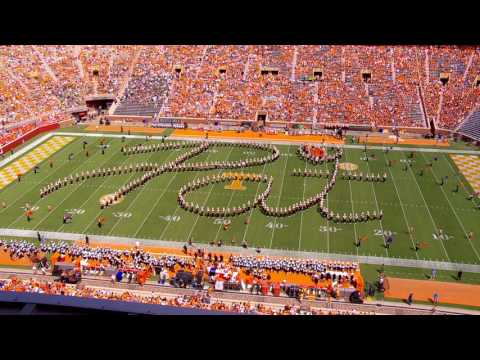 """Pride of the Southland"" Marching Band's Halftime Tribute to Pat Summitt - Full Program"