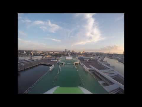 MS Star Gulf of Finland timelaps video