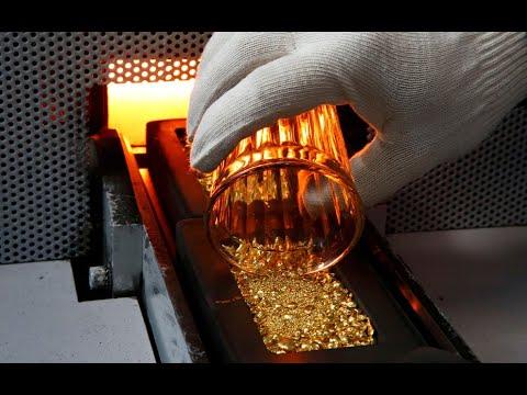 Процесс изготовления золотых монет и слитков удивительная технология плавки чистого золота