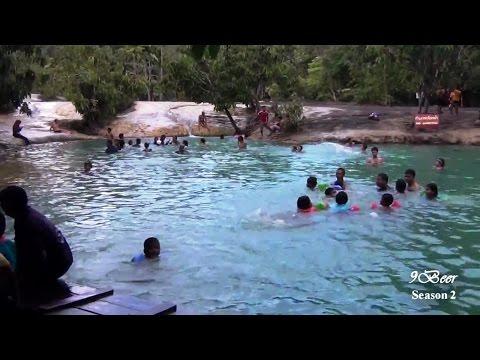 เที่ยวกระบี่ ทัวร์วัดถ้ำเสือ สระมรกต น้ำพุร้อน Emerald pool tour