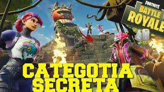 Fortnite catégorie Secret Week 8 pass 5!!!